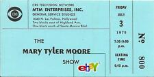 1st Episode: MARY TYLER MOORE SHOW TV Ticket - RARE!  - July 3, 1970