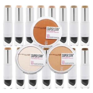 Maybelline New York Super Stay Foundation Stick / Pressed Powder Variety