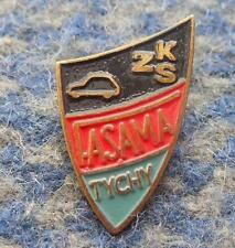 FASAMA TYCHY POLAND FOOTBALL FUSSBALL SOCCER CAR FACTORY CLUB 1980's PIN BADGE