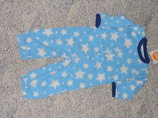 """NWT - Gymboree """"Brand New Basics"""" blue stars convertible outfit - 0-3 mos boys"""