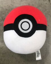 "Genuine Tomy Pokemon Pokeball Bean Stuffed Plush Toy - 5"" Diameter Great Ball"