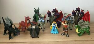 MEDIEVAL MYTHICAL CASTLE CREATURES TOWER OF DOOM DRAGONS Fantasy toy figures