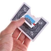 Profesional mordedura tarjeta mágica trucos tarjeta magia ilusiones tarj QN