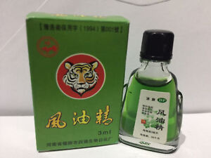 TIGER Balm Brand Medicated Oil Pain Relief Refresh 3ML Massage