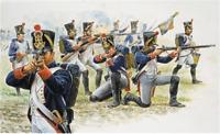 Italeri   1:72 - 6002, Französische Infanterie (1815) Napoleon Kriege, 50 Fig.,