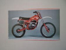 - RITAGLIO DI GIORNALE ANNO 1982 - MOTO FANTIC 80 CROSS