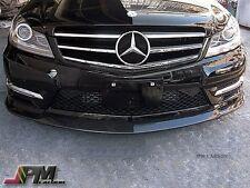 12-15 C Class W204 C204 C250 AMG CS Style Front Bumper Lip - Carbon Fiber (CF)