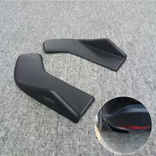 Rear Bumper Moulding Spoiler Diffuser Corner Scratch Resistant Guard Black ABS