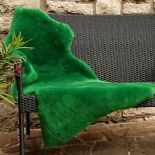Lambskin Apple Green Sheared Merino Sheepskin Runner Decoration Seat Pad
