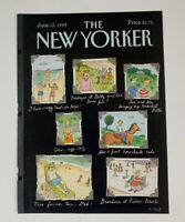 COVER ONLY ~ The New Yorker Magazine, June 12, 1989 ~ Roz Chast