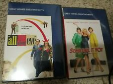 Some Like It Hot + All About Eve Dvd Free Shipping Excellent Condition new