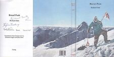 Mountaineering: Sale, Broad Peak, 1st Ascent, 1st UK ed, Hc, New, Signed by 3!