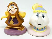 Disney's Beauty & Beast Birthday Candle Holders - Schmid Cogsworth & Mrs. Potts
