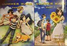 Summer Wars ( Part 1-2 ) English Manga Graphic Novels SET lot New