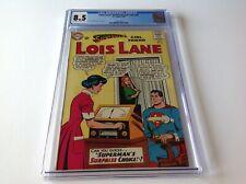 SUPERMANS GIRLFRIEND LOIS LANE 44 CGC 8.5 SUPERMAN LOVE DETECTOR DC COMICS