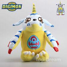 35cm Digimon Gabumon Digital Monster Figure Plush Toy Soft Stuffed Doll Kid Gift