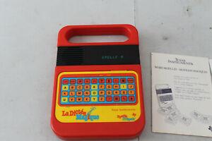 La Dictée Magique Texas Instruments Vintage livrée et cartouche module en +