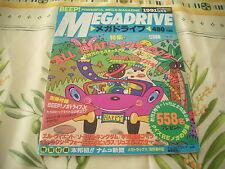 >> SEGA BEEP MEGADRIVE REVUE ISSUE MAGAZINE JAPAN IMPORT SEPTEMBER 1991 09/91 <<
