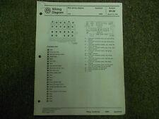 1986 Vw Quantum Main Wiring Diagram Service Manual Factory Oem March Book 86