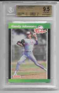 RANDY JOHNSON 1989 DONRUSS ROOKIES #43  BGS 9.5
