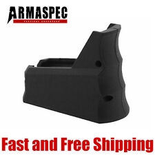Armaspec Rhino R-23 Tactical Magwell Grip w/ Funnel Finger Groove - Black ARM100