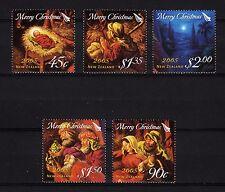 103261/ Neuseeland 2005 - Mi 2289/93 - Weihnachten - **