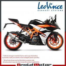 KTM RC 390 2017 17 LEOVINCE EXHAUST MUFFLER LV ONE EVO STAINLESS STEEL 14185E