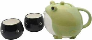 Sun Art Teapot & Teacup [Tea Set] Frog Green 600ml / 140ml SAN3293