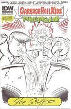 Garbage Pail Kids Trump / Hillary Debate Hand Drawn Sketch Comic Book Joe Simko