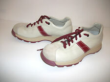 O.X.S. Italian Leather Trainers Womens US Size 7.5 Euro Size 38 Free Shipping