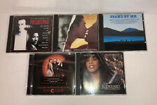 LOT OF 5 MOVIE SOUNDTRACK CDs Chicago Philadelphia The Bodyguard 80's 90's