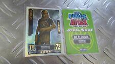 CHEWBACCA  LE1 - Limitierte Auflage - Clone Wars Serie 2 - Star Wars Force Attax