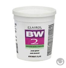 CLAIROL BW2 BLEACH POWDER LIGHTENER, DEDUSTED EXTRA STRENGTH  8oz TUB