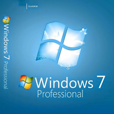Windows 7 Professional 32-64 Bit Win 7 Pro Genuine Original Activation Key
