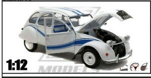 1/12 Z MODELS Voiture Miniature Citröen 2CV France 3 Collection Neuf
