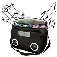 Mp3 Speaker Cooler Bag Insulated Picnic Camping Beach Ice Chest Food Drinks Camp