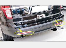 Tail Rear Fog Light Lamp Cover Trim ABS Chrome For Ford Explorer 2011-2015