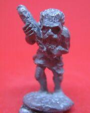 Warhammer Pre slotta AD&D citadel metal 1980's FF45-2 CAVEMAN w. CLUB
