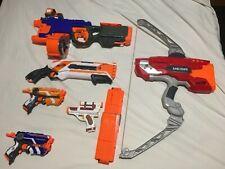 Nerf Gun Bow Joblot: Mega Thunderbow, Roughcut 2x4, Firestrike Elite.