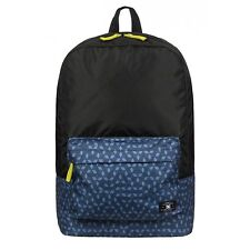 DC Bunker Fabrics Mixed Backpack - Mens Geo Blues School Bag EDYBP03028-BRD6