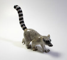 Vintage Made Collectible Ceramic Porcelain Ring-tailed Lemur
