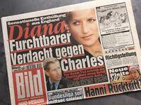 BILD Zeitung 07. Januar 2004 / 01. / 07.01.2004 / Sven Hannerwald Charles Diana