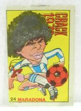 DIEGO ARMANDO MARADONA ROOKIE ORIGINAL ALBUM 1978 FOOTBALL SOCCER CARD N°24