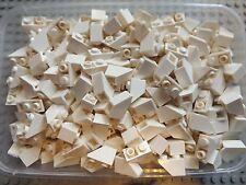 20 LEGO NUOVISSIMO Bianco inclinazione invertito 45 2 x 1, n. 3665 ideale di ricambio per aggiungere a parte