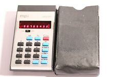 Vintage MPI Memory Calculator Red led Made in  Hong Kong By MPI LTD 1970'S