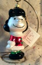 Polonaise Kurt Adler ~ Christmas Holiday ornament ~ Lucy ~ from Peanuts