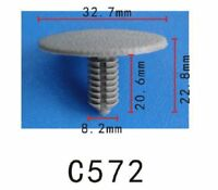 20pcs Fit Ford N805315 Hood & Trunk moulding Retaining Clip - Autobahn88