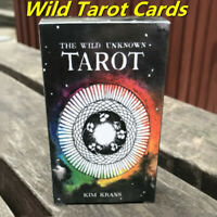 NEW Cards Wild Wood Tarot Cards Beginner Deck Vintage Fortune Telling 78Pcs/Set
