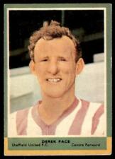 A&BC Football Quiz 1964 (B1) Derek Pace Sheffield United No. 17
