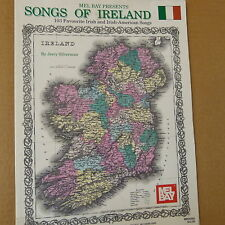 songbook SONGS OF IRLEAND , Mel Bay, Jerry Silverman